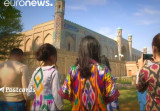 L'immense Palais Khudayar Khan de Kokand