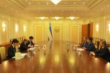 Встреча с Послом Японии в Узбекистане