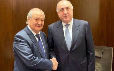 Встреча с министром иностранных дел Азербайджана