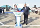 В Мангистауской области Казахстана открыли дорогу Бейнеу-Акжигит-граница Узбекистана
