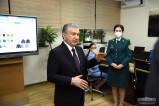 Президент ознакомился с деятельностью главного управления внутренних дел