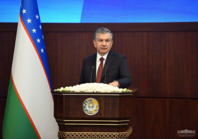 Shavkat Mirziyoyev chairs expanded session of the Security Council