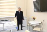 Президент осмотрел строительство многопрофильного медицинского центра