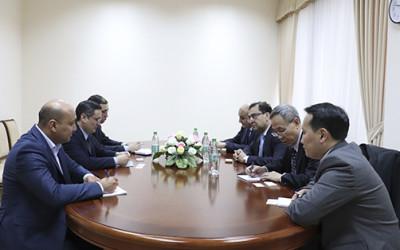 Встреча с представителями Института ЦАРЭС