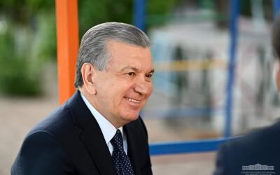Глава государства побеседовал с жителями махалли