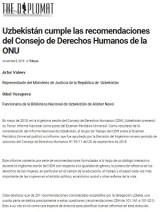«THE DIPLOMAT IN SPAIN» о прогрессе Узбекистана в достижении гендерного равенства