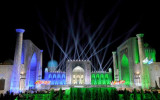 Oriental melodies fill ancient city in Uzbekistan