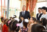 Новый детский сад поможет предоставить современное воспитание более 160 детям махалли