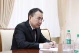 Qozog'istonlik diplomat bilan uchrashuv
