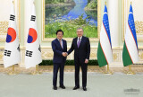 Президент Узбекистана принял делегацию парламента Южной Кореи
