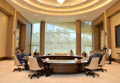 Председатель Сената встретилась с делегацией Корпорации финансирования международного развития США