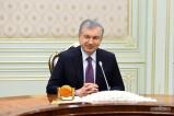 Президент Узбекистан принял делегацию Афганистана