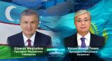 Президент Узбекистана поздравил Президента Казахстана с днем рождения