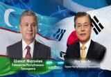 Состоялся телефонный разговор Президентов Узбекистана и Южной Кореи