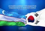 Лидеры Узбекистана и Южной Кореи проведут онлайн-саммит