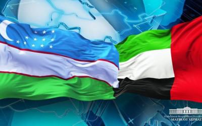 Президент Узбекистана направил поздравления руководству ОАЭ