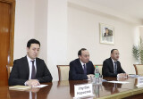 Latviya delegatsiyasi bilan uchrashuv
