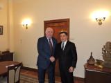 О встрече с замминистра иностранных дел РФ Г.Карасиным
