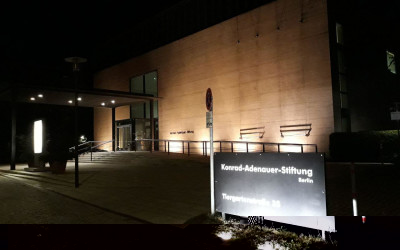 Meeting at the Konrad Adenauer Foundation