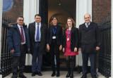 Встреча с экспертами британских аналитических центров