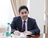 Meeting with an Azerbaijani diplomat