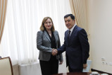 About the meeting with the Special Representative of the Secretary-General, the Head of the UN Regional Center for Preventive Diplomacy in Central Asia (UNRCCA)