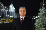 President's new year greeting to the people of Uzbekistan