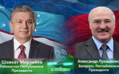 Лидеры Узбекистана и Беларуси провели телефонный разговор