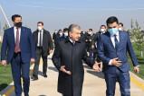 Президент посетил Чиназский район