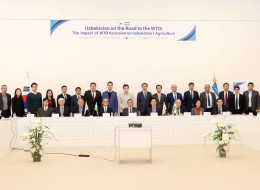 "Scientific-practical workshop on ""Economic evaluation of Uzbekistan's accession to the WTO"""
