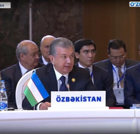 Участие Президента в седьмой саммите Совета сотрудничества тюркоязычных государств
