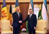 Состоялась встреча Президентов Узбекистана и Молдовы