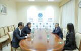 О встрече с директором Национального института стратегических исследований Кыргызстана