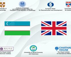Эксперты из Узбекистана проведут серию научных мероприятий с коллегами из университетов Кембриджа  и Сент-Эндрюс, а также британских аналитических центров
