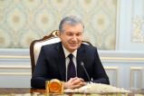 Президент Узбекистана принял заместителя Председателя Кабинета Министров Туркменистана