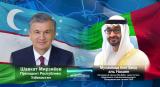 Президент Узбекистана и Наследный принц Абу-Даби рассмотрели дальнейшие шаги по расширению полномасштабного партнёрства