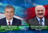 Беларусь Президенти Ўзбекистон Президентини сайловдаги ишончли ғалаба билан муборакбод этди