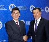 Встреча с представителями Шанхайской академии общественных наук