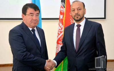 Состоялось заседание узбекско-афганской рабочей комиссии