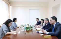 Koreya Respublikasi ekspertlari bilan uchrashuv