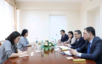 Meeting with the Korean experts