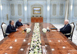 Ўзбекистон Президенти МДҲ кузатувчилар миссияси раҳбарини қабул қилди