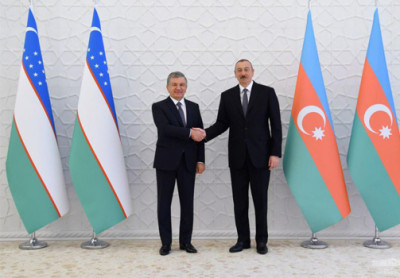 Presidents of Uzbekistan and Azerbaijan meet in Baku