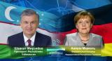 Президент Узбекистана обсудил с Канцлером Германии развитие ситуации в регионе
