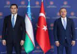 Состоялась встреча с министром иностранных дел Турции