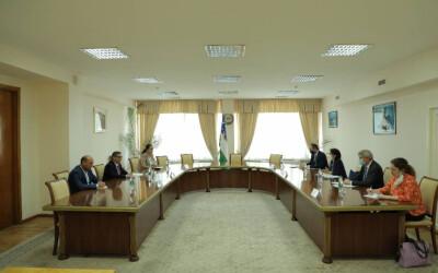 В ИСМИ состоялась встреча с делегацией Организации экономического сотрудничества и развития (ОЭСР)