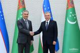 Президенты Узбекистана и Туркменистана обсудили вопросы укрепления стратегического партнерства