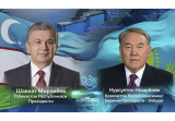 Состоялся телефонный разговор Президента Узбекистана с Первым Президентом Казахстана