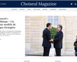 «Choiseul Magazine»: В Узбекистане закладывается фундамент новой эпохи Ренессанса, требующей качественно новых подходов во внешней политике
