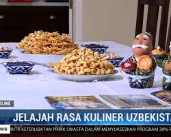 Узбекские национальные блюда в Индонезийском телевидении